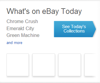 What's on Ebay Today