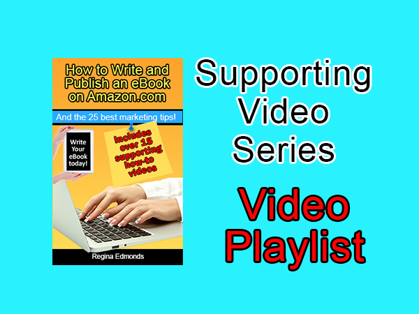 writing ebooks supporting video playlist