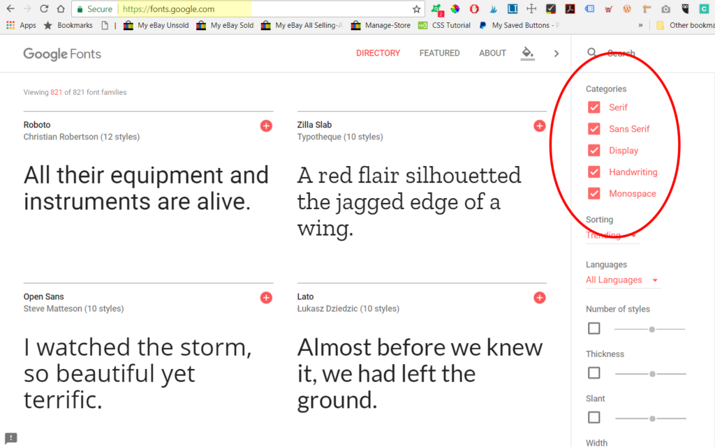 google-fonts-screen-capture-with-circles